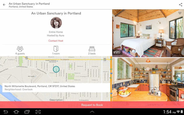 Airbnb best travel apps for Android