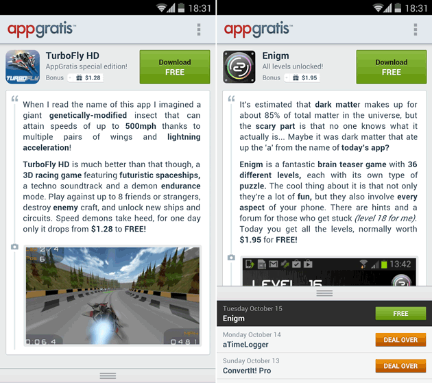 AppGratis for Android