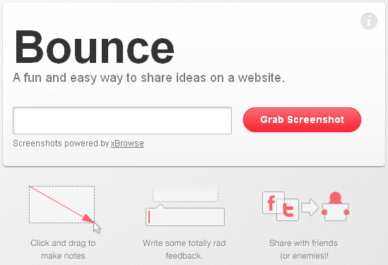 Bounce Interface
