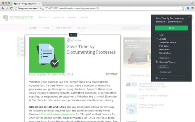 evernote-web-clipper Top 5 Add-ons for Firefox for Android