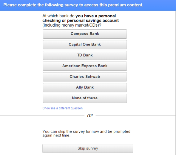 How can Publishers Earn Money by Joining Google Consumer Surveys?