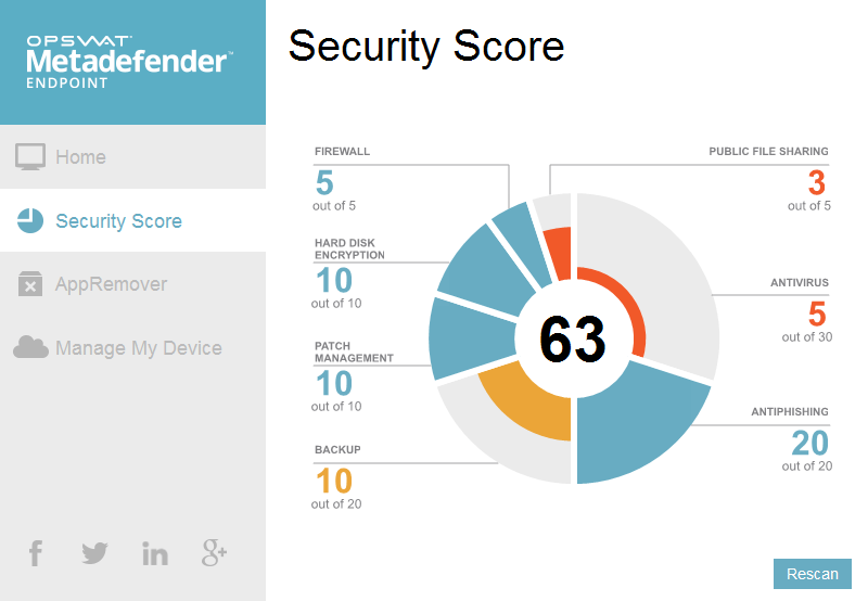 Metadefender Endpoint Free Security Tool for Windows