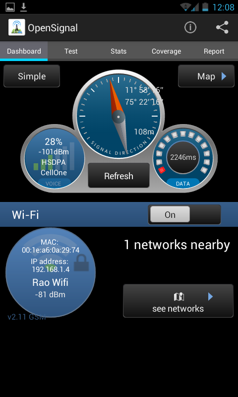 Open Signal for Android - Advanced