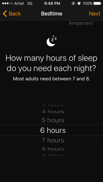 Set Sleeping time in iOS 10 BedTimeSet Sleeping time in iOS 10 BedTime