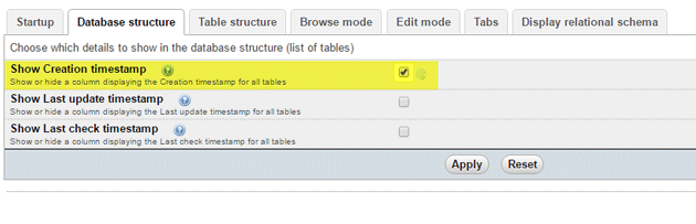 show-creation-timestamp-of-tables-in-phpmyadmin
