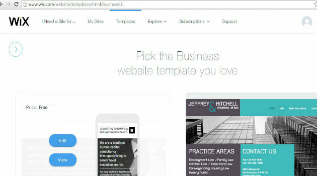 how to change wix template - wix a stunning website builder for noobs