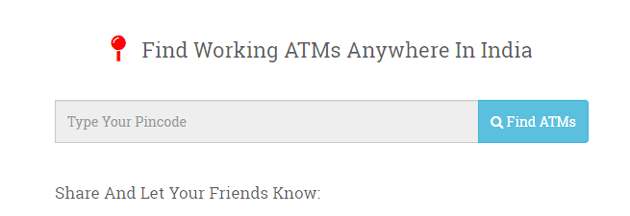 workingatms-find-atm-with-money-in-india