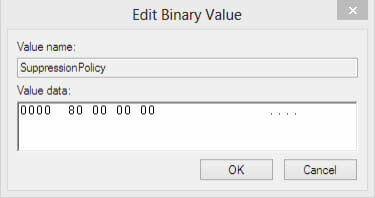 edit-binary-value-SuppressionPolicy