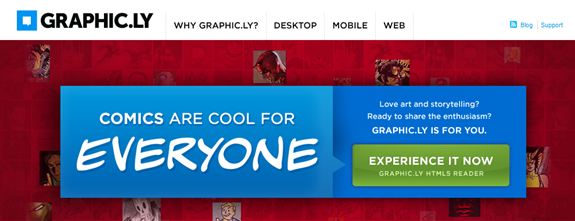 Graphic.ly Homepage