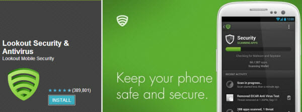 lookout- security-and-antivirus-android-app