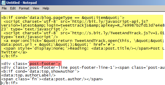 add-tweet-this-code-blogger