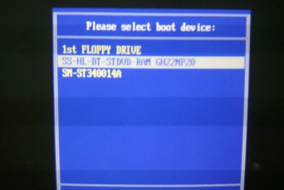 select-boot-device