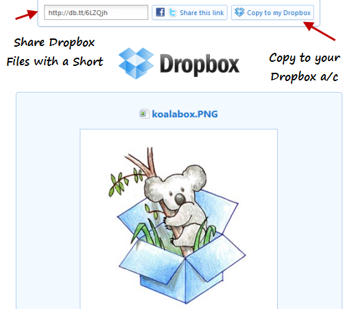 share-dropbox-files-short-url