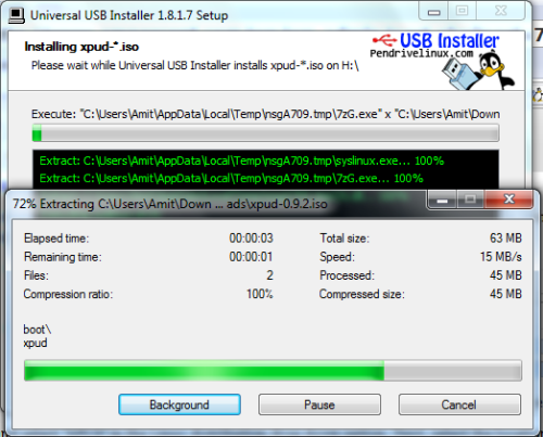 Create Bootable USB for Portable Operating system - XPUD