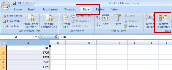 Delete duplicate entries from Excel cells