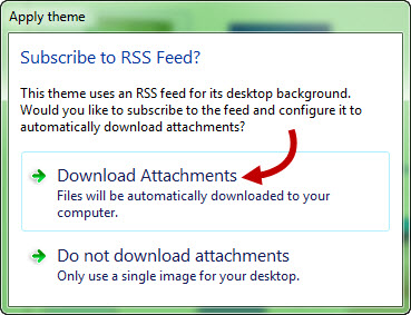 download attachments to your computer