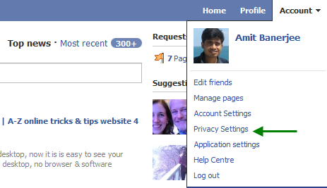 Delete Facebook Applications from your profile