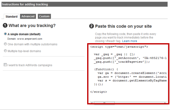 Better Google Analytics Code