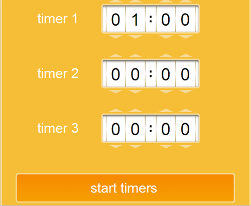 Online StopWatch and CountDown Timers