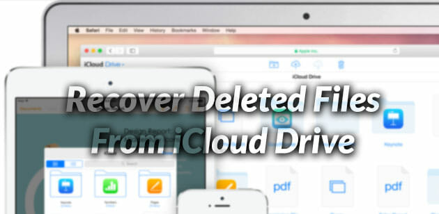 how to recover deleted files from nas drive