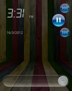 Lock screen app for Android