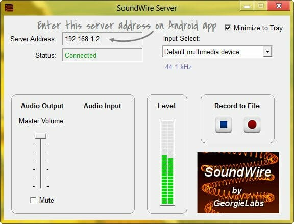 soundwire-server-pc-window