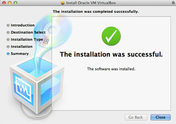 successfully_installed_install android os on pc, mac and linux