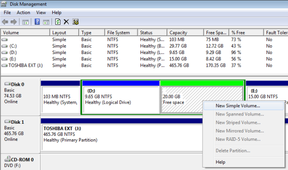 Unallocated Windows Partition