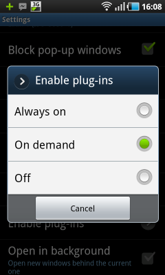 Use Adobe Flash On Demand And Save Android battery usage