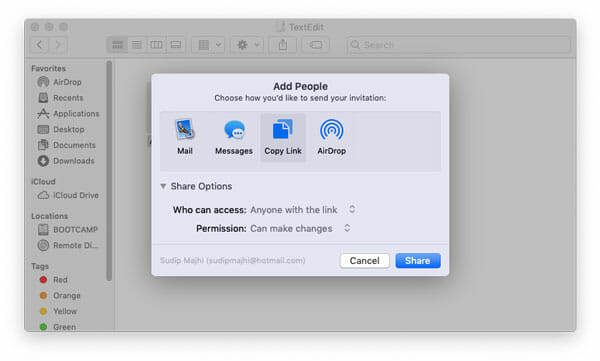 How To Get Direct Link Of Any iCloud File From macOS