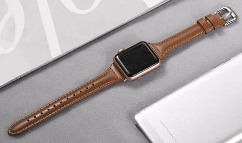 Secbolt Leather Band