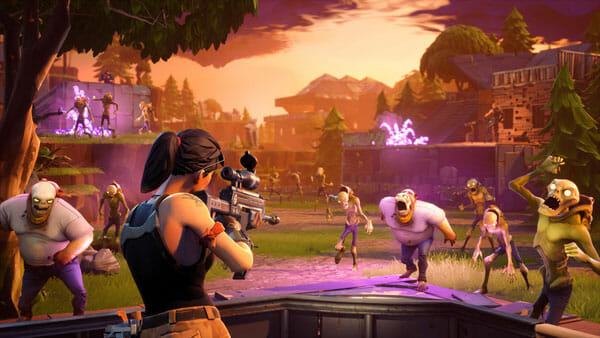Fortnite – Multiplayer Action Building Game For PS4