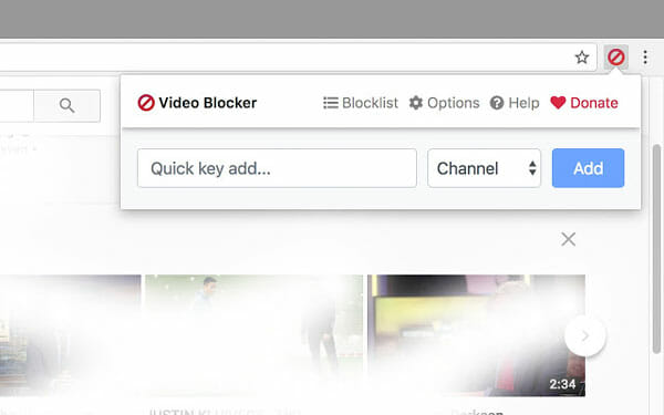Block YouTube Channle Using Google Chrome extension