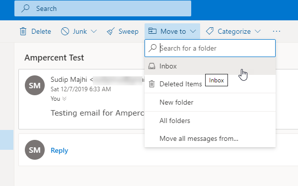 How To Recover Archived Emails In Outlook Website
