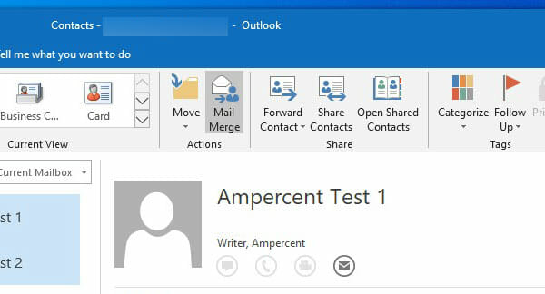 How To Send Bulk Email From Outlook On Windows