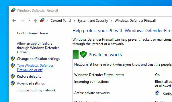 How To Turn Off Firewall On Windows 10 And Mac