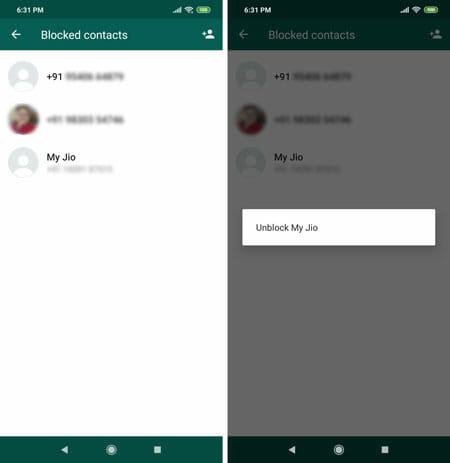 How To Block Someone On WhatsApp For Android