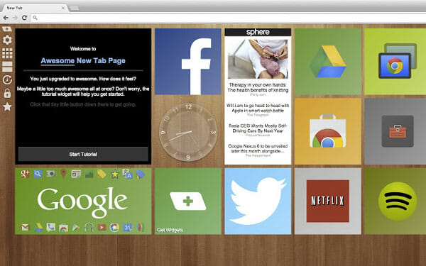 Awesome New Tab Page Best Extensions to Manage New Tab Page in Chrome