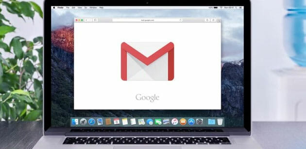Gmail on Macbook