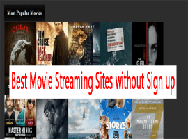 best free movie streaming sites without sign up