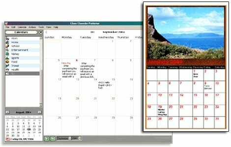Web-Calendar-Pad-User-interface