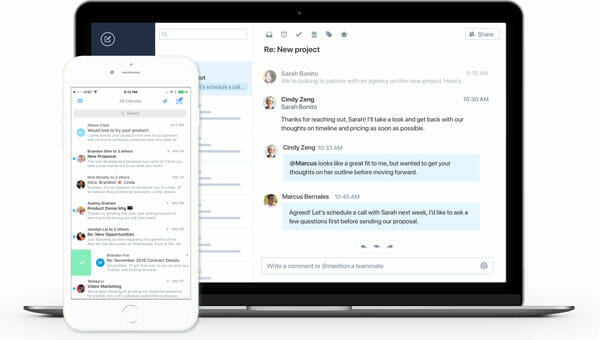 Polymail Best Email Clients for Mac