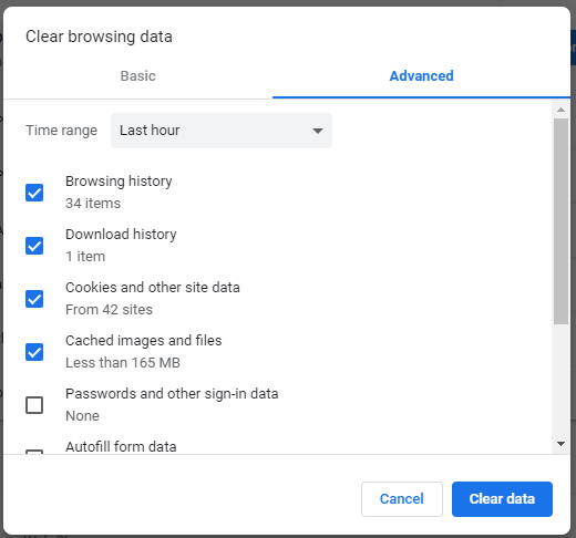 Clear-Google-Chrome-Cookies-and-Browsing-History