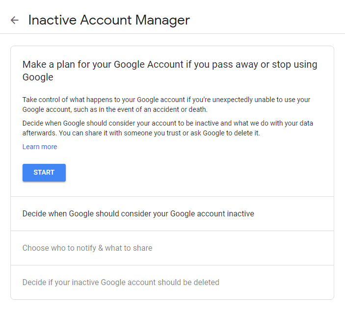 What is Inactive Account Manager in Google How to Setup and Use