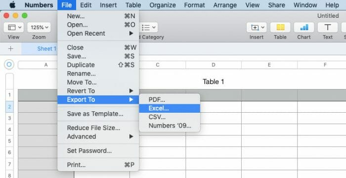 open Numbers file in Microsoft Excel or Windows
