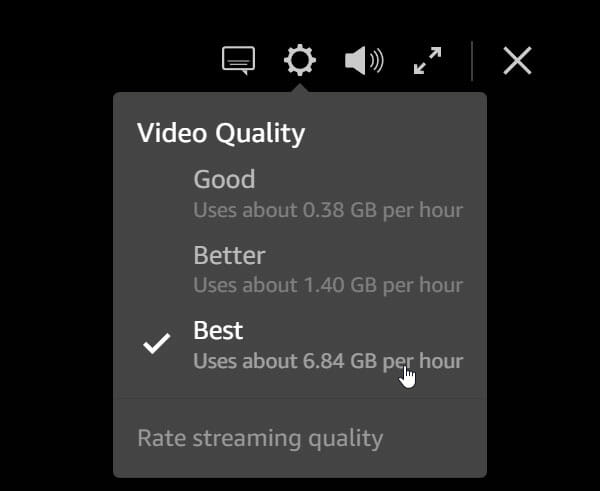 How To Change Video Quality On Amazon Prime