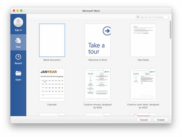 Save Microsoft Office Documents in OneDrive On Mac