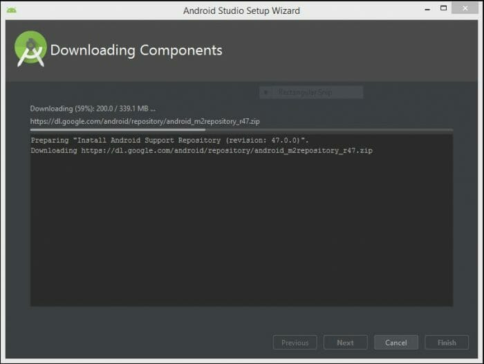 android-studio-downloading-components-8