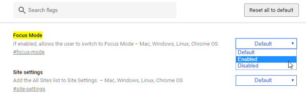 How To Use Focus This Tab Feature In Google Chrome