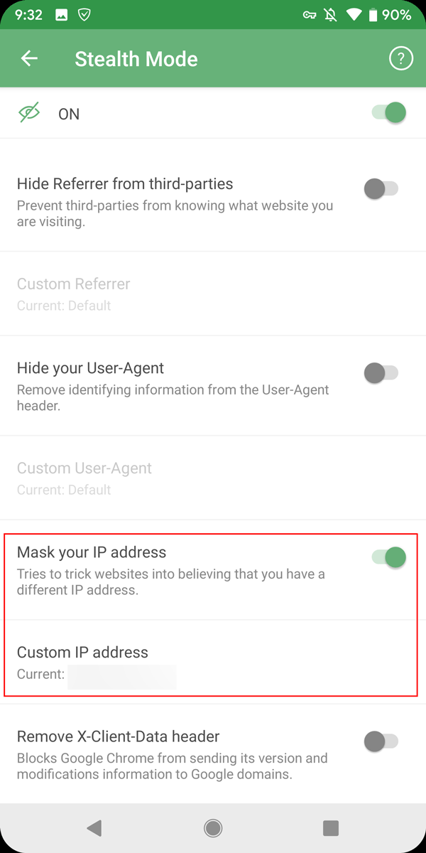 mask Ip Address AdGuard for Android